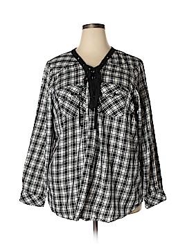 Torrid Long Sleeve Blouse Size 3X Plus (3) (Plus)