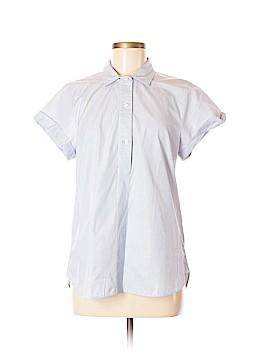 J. Crew Factory Store Short Sleeve Button-Down Shirt Size M