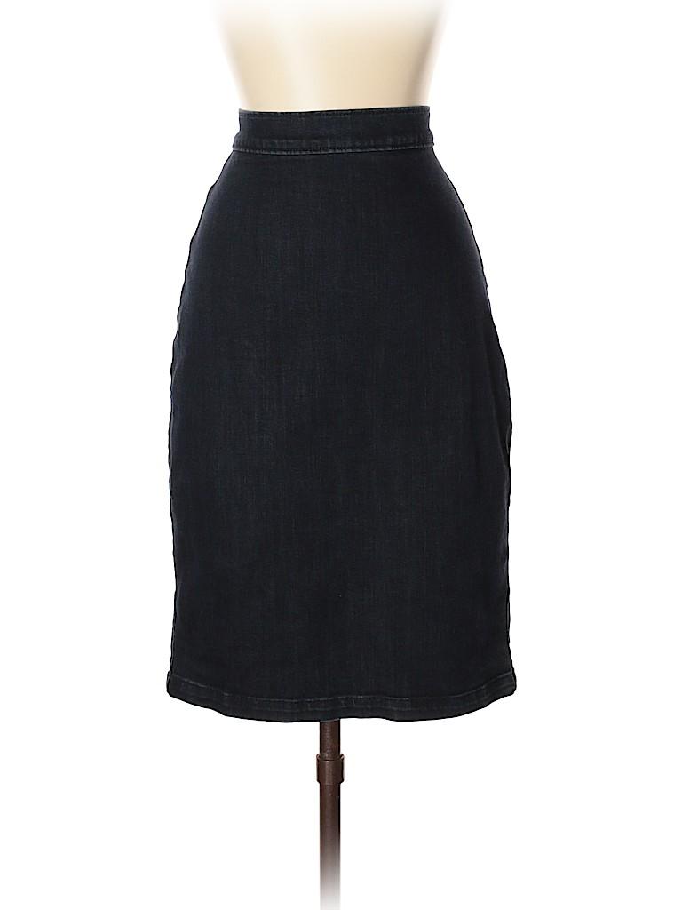 Banana Republic Women Denim Skirt 26 Waist