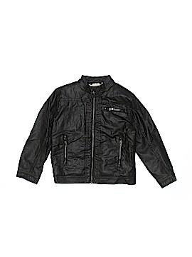 H&M Faux Leather Jacket Size 7