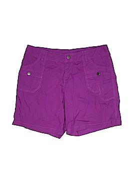 Lane Bryant Khaki Shorts Size 16 (Plus)