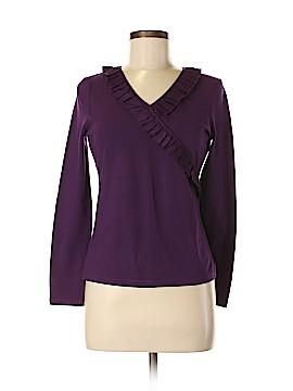 Ann Taylor Factory Long Sleeve Top Size M (Petite)