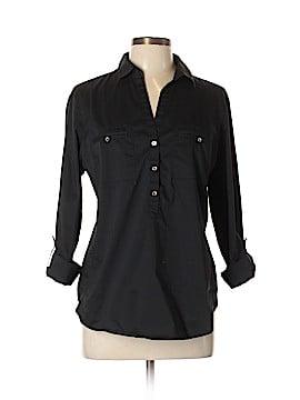 7th Avenue Design Studio New York & Company Long Sleeve Button-Down Shirt Size L