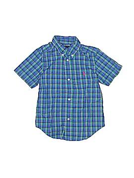 Ralph Lauren Short Sleeve Button-Down Shirt Size 3T