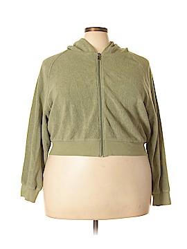 Newport News Zip Up Hoodie Size 2X (Plus)