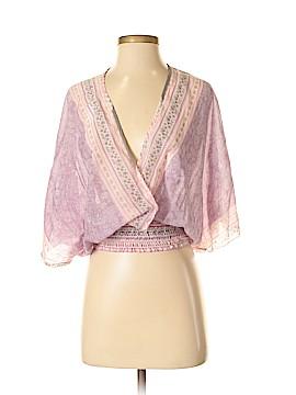Velvet 3/4 Sleeve Blouse Size P