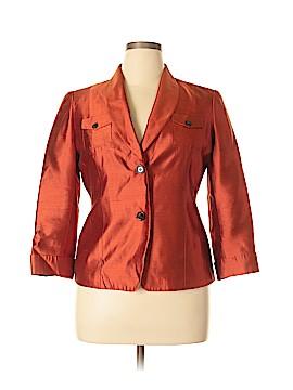 Anne Klein Silk Blazer Size 14 (Petite)