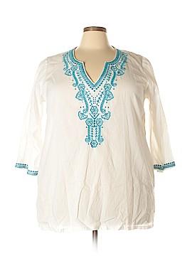 Dalin 3/4 Sleeve Blouse Size 3X (Plus)