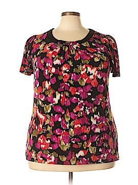 JMS Collection Short Sleeve Blouse Size 2X (Plus)