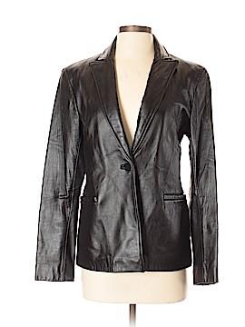 Nicole Miller New York Leather Jacket Size S