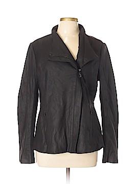T Tahari Leather Jacket Size L