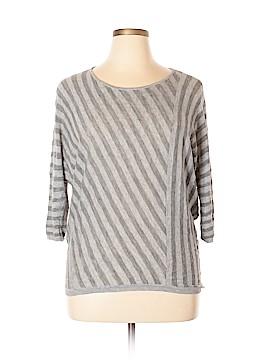 PureDKNY 3/4 Sleeve Top Size L