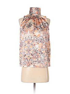 Lafayette 148 New York Sleeveless Silk Top Size 2