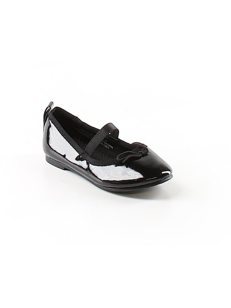 3b403fb2eb7 H M Solid Black Flats Size 8 - 46% off