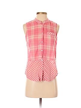 Keds Sleeveless Button-Down Shirt Size S