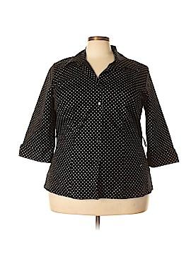 Oasis Short Sleeve Button-Down Shirt Size 18 - 20 (Plus)