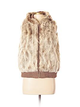 Brandon Thomas Faux Fur Vest Size M