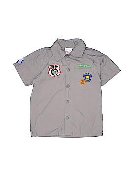 Disney Short Sleeve Button-Down Shirt Size 4T