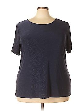 Croft & Barrow Short Sleeve Blouse Size 2X (Plus)