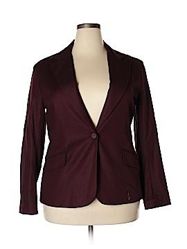 Eva Mendes by New York & Company Blazer Size 18 (Plus)