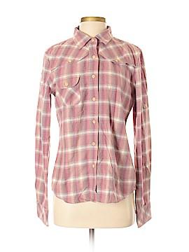 Paper Denim & Cloth Long Sleeve Button-Down Shirt Size 4