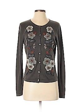 Garnet Hill Silk Cardigan Size S