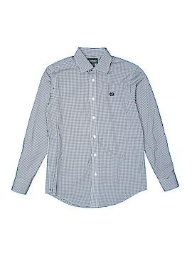 Lauren by Ralph Lauren Long Sleeve Button-Down Shirt Size 14