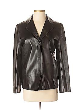 Prada Leather Jacket Size 38 (IT)