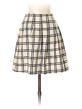 Pink Tartan Wool Skirt Size 2