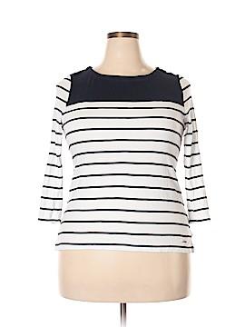 Nautica 3/4 Sleeve T-Shirt Size L