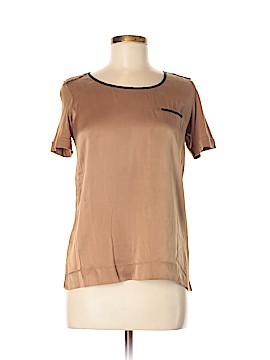 Gerard Darel Short Sleeve Silk Top Size XS (1)