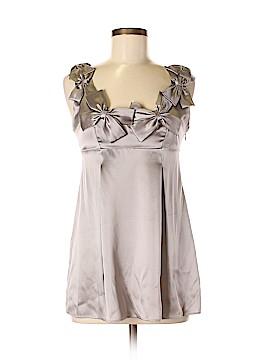 Rebecca Taylor Sleeveless Silk Top Size 6