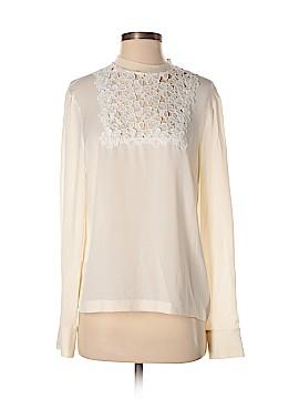 A.L.C. Long Sleeve Silk Top Size 8