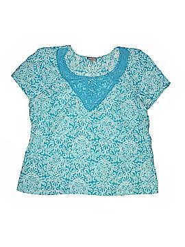 Essentials Short Sleeve Blouse Size 0X (Plus)