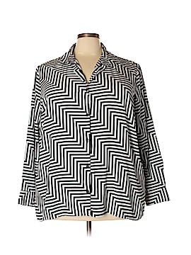 Maggie Barnes Long Sleeve Blouse Size 26W (Plus)