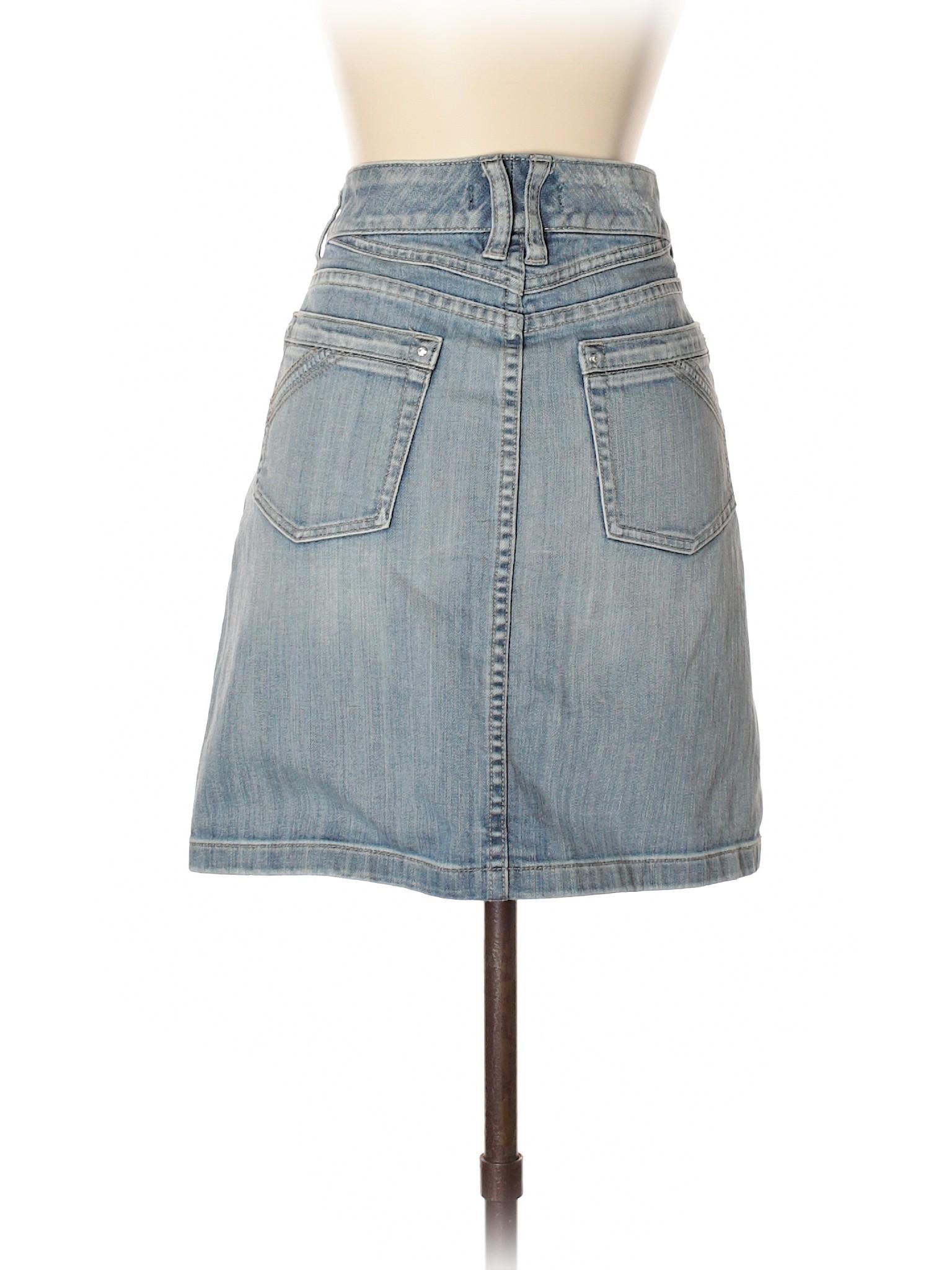 Black House Boutique Skirt Denim Market White xAEETwaS