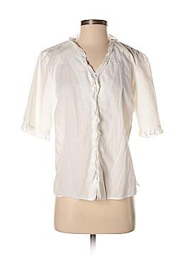 Lauren by Ralph Lauren Short Sleeve Blouse Size L