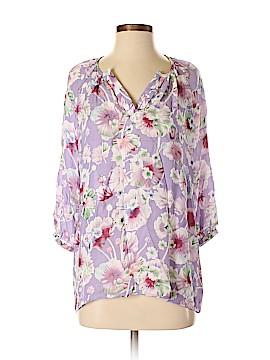 Cynthia Rowley TJX 3/4 Sleeve Blouse Size M