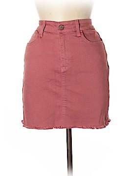 O2 Denim Skirt Size L