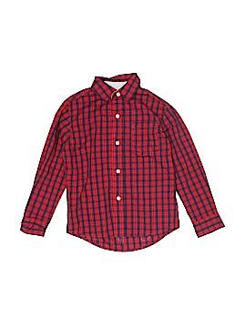 Nautica Short Sleeve Button-Down Shirt Size 5 - 6