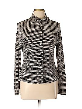 Classiques Entier Long Sleeve Button-Down Shirt Size L