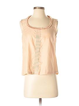 Erica Tanov Sleeveless Blouse Size Sm (1)