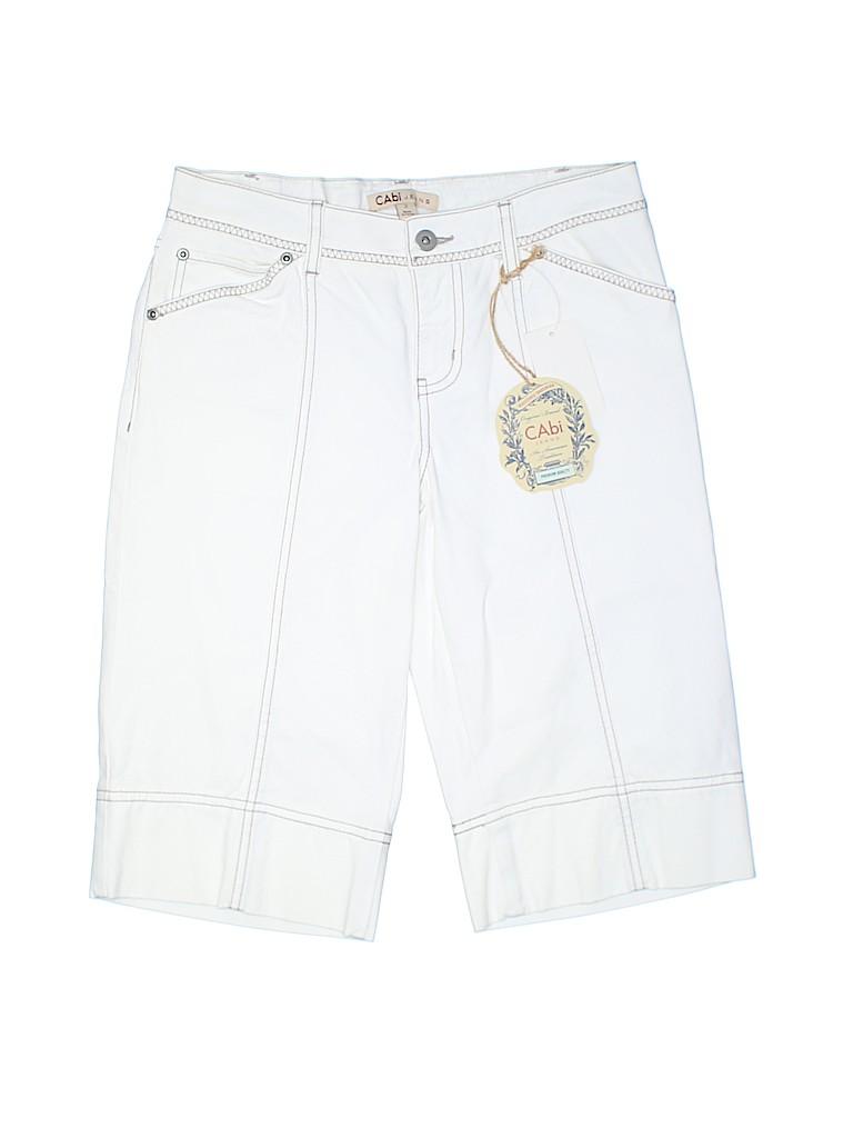 CAbi Women Denim Shorts Size 2