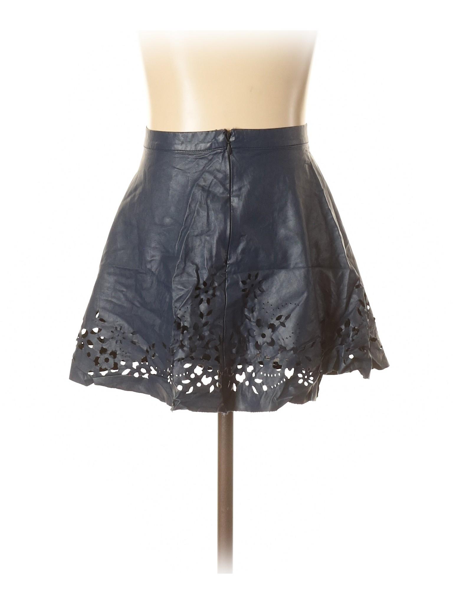 Boutique Faux Boutique Boutique Leather Skirt Skirt Boutique Faux Faux Skirt Leather Faux Leather afqwZ