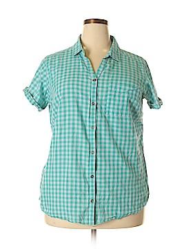 Columbia Short Sleeve Button-Down Shirt Size 1X (Plus)