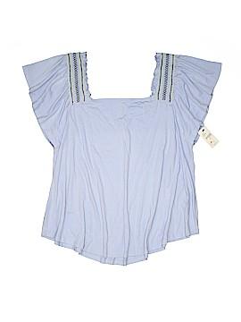 Lane Bryant Outlet Short Sleeve Top Size 14 - 16 Plus (Plus)