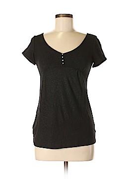 Meringue Short Sleeve Henley Size M