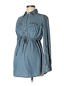 Liz Lange Maternity Long Sleeve Button-Down Shirt Size S (Maternity)