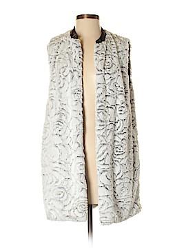 Matty M Faux Fur Vest Size XS - Sm