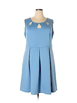 Modamix By Brandon Thomas Casual Dress Size 20 (Plus)